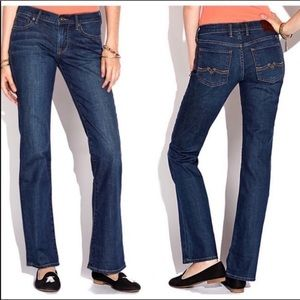 New Lucky Brand sweet n low boot cut jeans 2/26